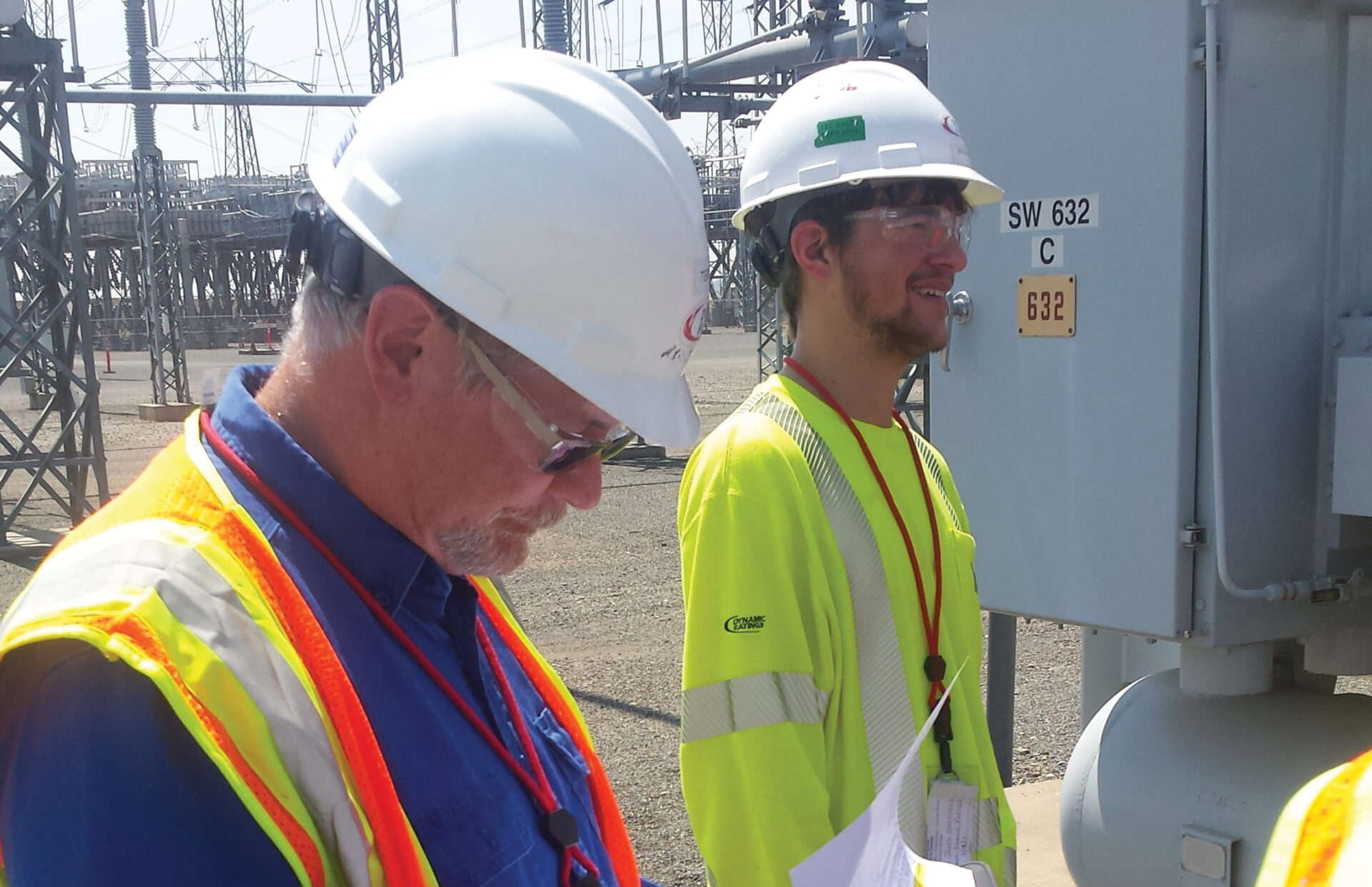 Field Service Team and Project Manager at a Substation